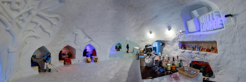 Panoramafoto: White Lounge - Alpen