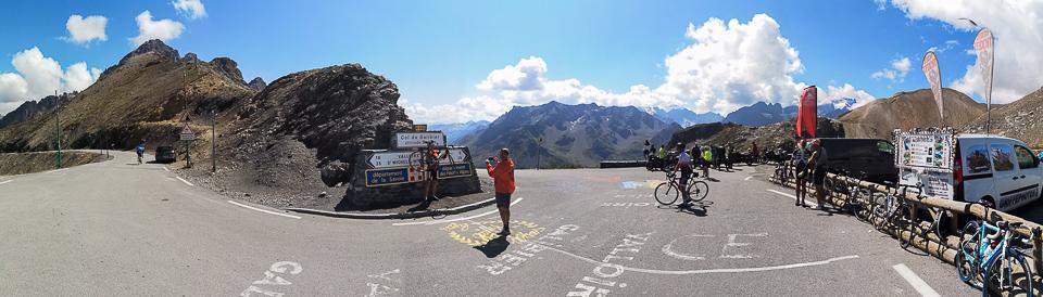 Panoramafoto: Col du Galibier - Dauphine