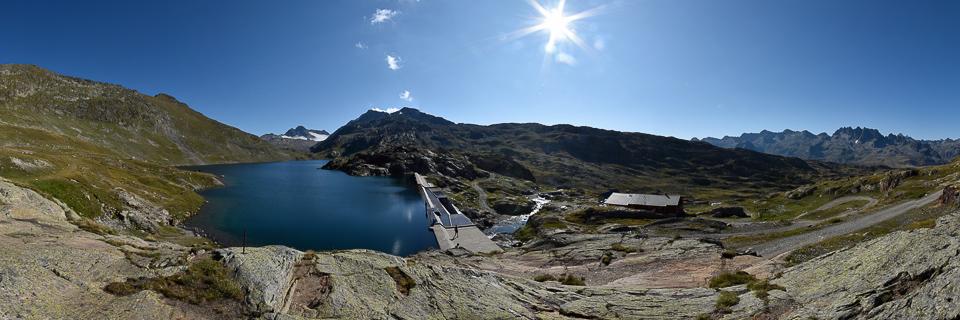 Panoramafoto: Lac Bramant - Dauphine
