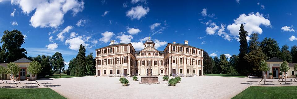 Panoramafoto: Schloss Favorite - Rastatt
