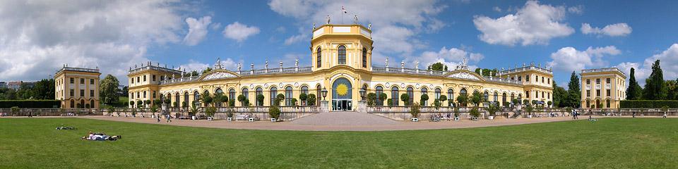 Panoramafoto: Orangerie - Kassel