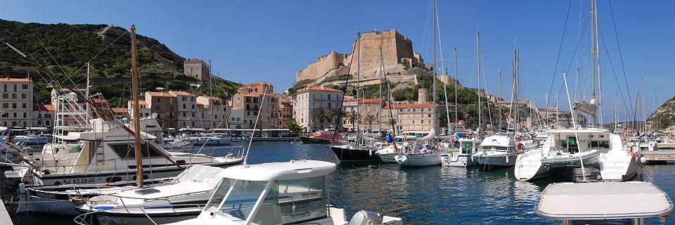 Panoramafoto: Bonifacio - Korsika