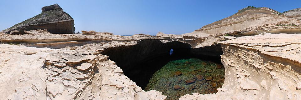 Panoramafoto: Capo Pertusato - Korsika