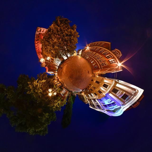 Panoramafoto: Riga - Little Planet