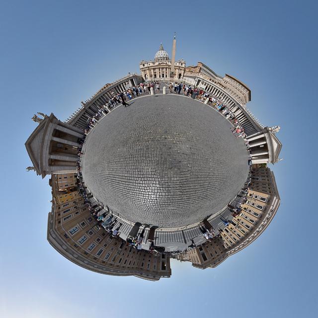 Panoramafoto: Calvi - Little Planet