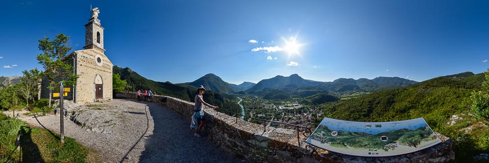 Panoramafoto: Castellane - Provence