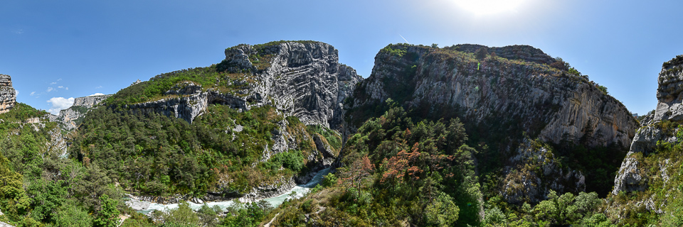 Panoramafoto: Gorges du Verdon - Provence