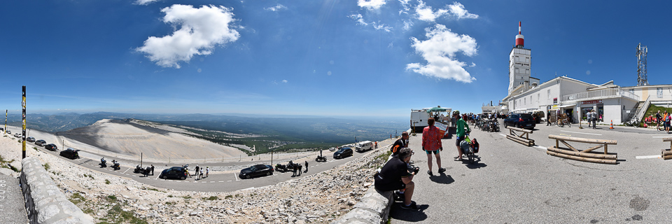 Panoramafoto: Mont Ventoux - Provence
