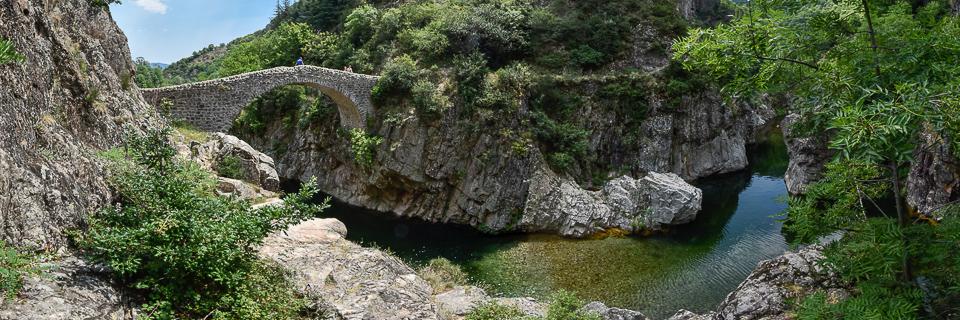 Panoramafoto: Pont du Diable - Provence