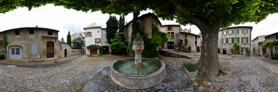 Panoramafoto: Vaison la Romain - Provence