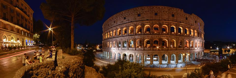 Panoramafoto: Colosseum - Rom