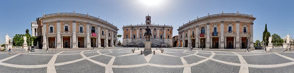 Panoramafoto: Kapitol - Rom