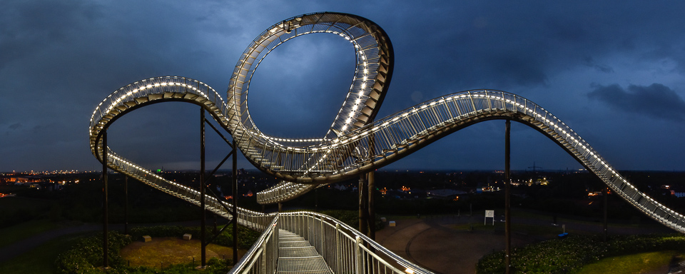 Panoramafoto: Tiger and Turtle - Duisburg