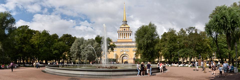 Panoramafoto: Admiralität - St. Petersburg