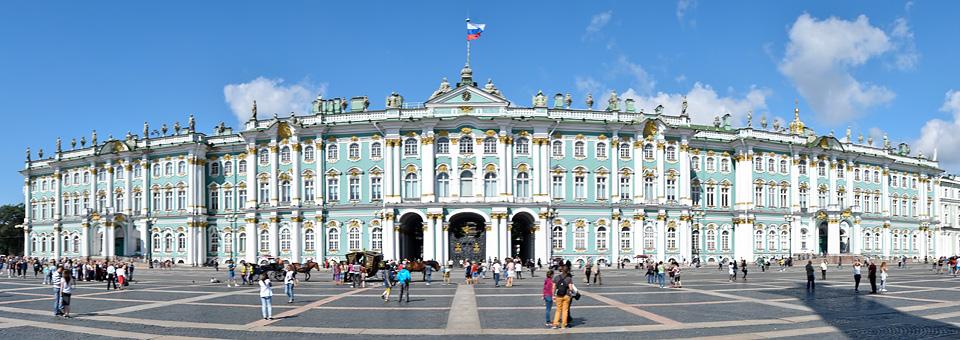 Panoramafoto: Eremitage - St. Petersburg