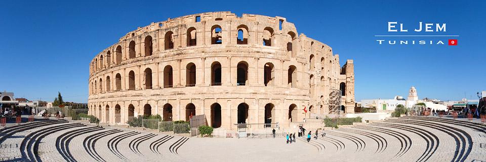 Amphitheater El Djem - Tunesien