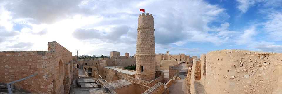 Panoramafoto: Ribat Monastir - Tunesien