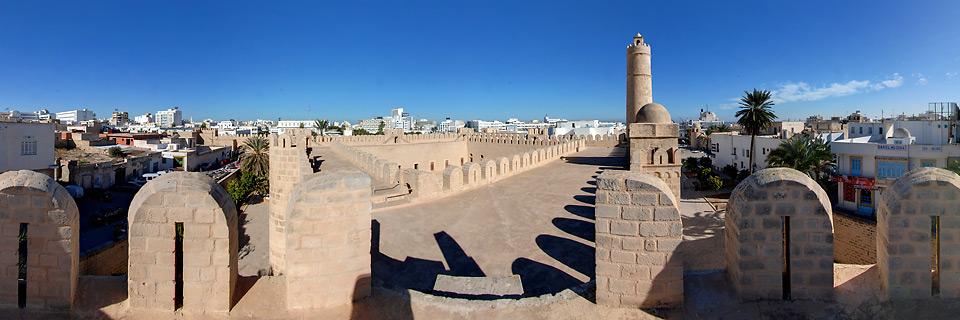 Panoramafoto: Ribat Sousse - Tunesien