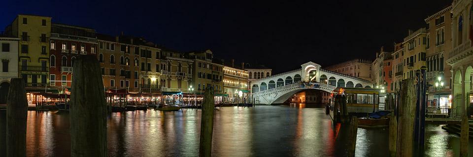 Canale Grande und Rialto Brücke - Venedig