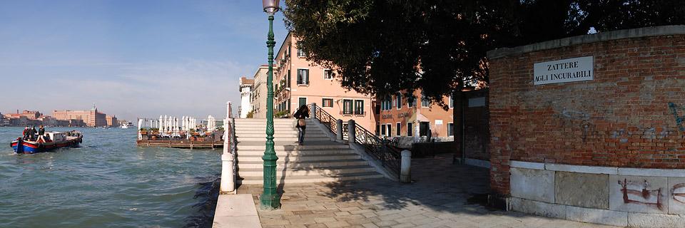 Fondamenta Zattere - Venedig