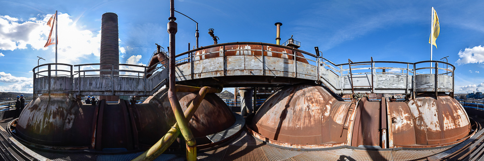 Panoramafoto: Völklinger Hütte